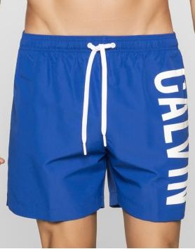 Pludmales šorti Calvin Klein KM0KM00010-475 Blue