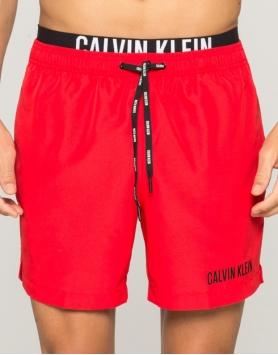 Pludmales šorti Calvin Klein KM0KM00059-601 Red