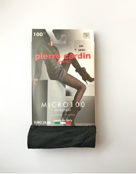 Zeķubikses Pierre Cardin 100Den Nero